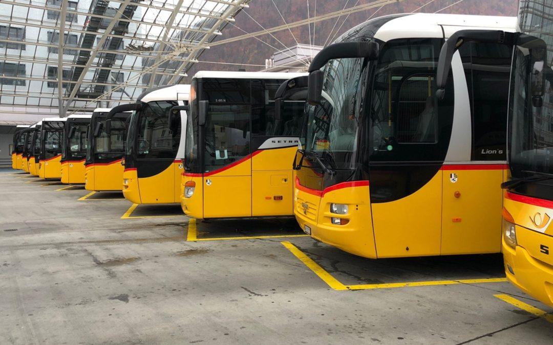 Der Öffentliche Verkehr in und nach Flims